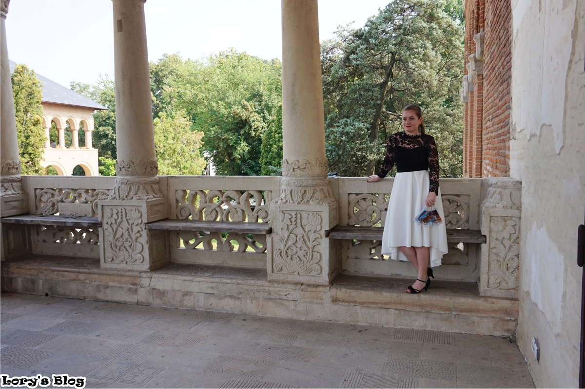rochie-eleganta-shein-alb-negru-mogosoaia