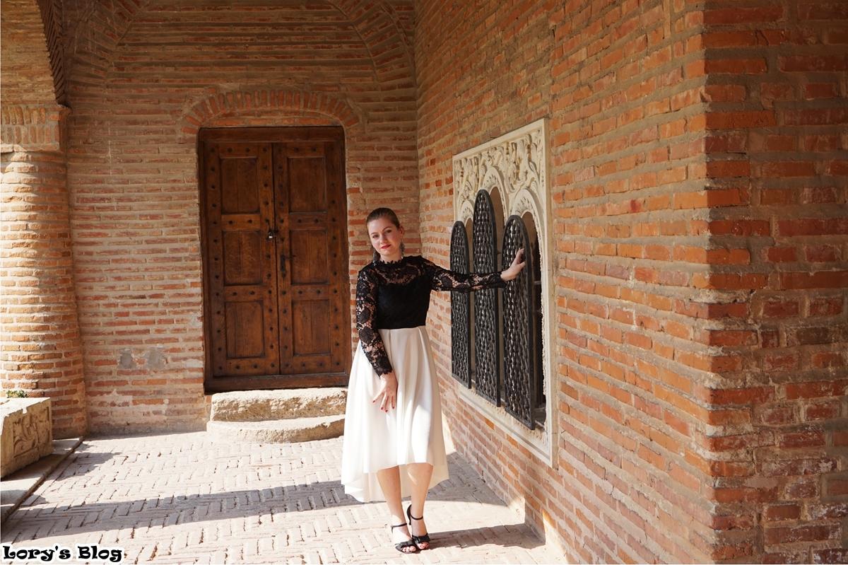 rochie-eleganta-shein-negru-alb