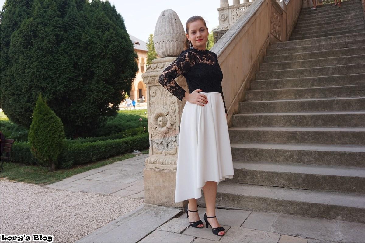 rochie-eleganta-shein-alb-negru