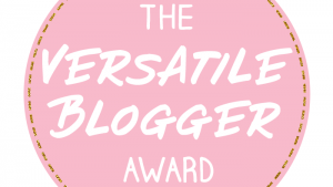 TAG – The Versatile Blogger Awards