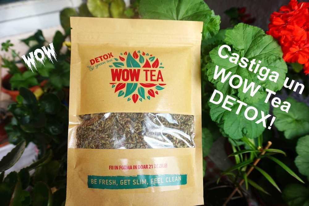 Câştigă un Wow Tea DETOX! INCHIS
