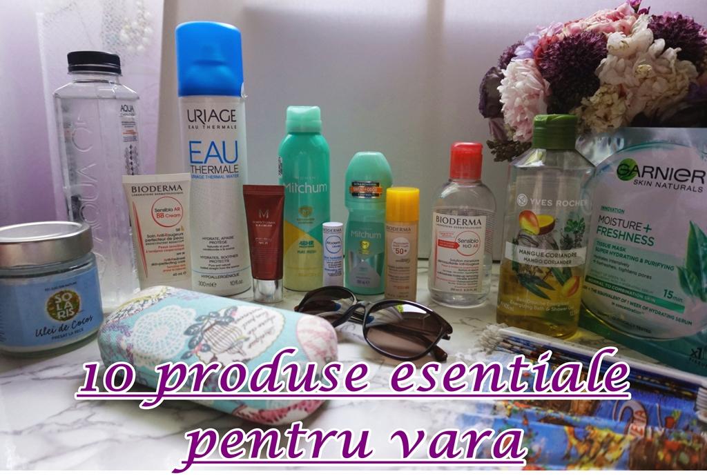10 produse esențiale pentru vară