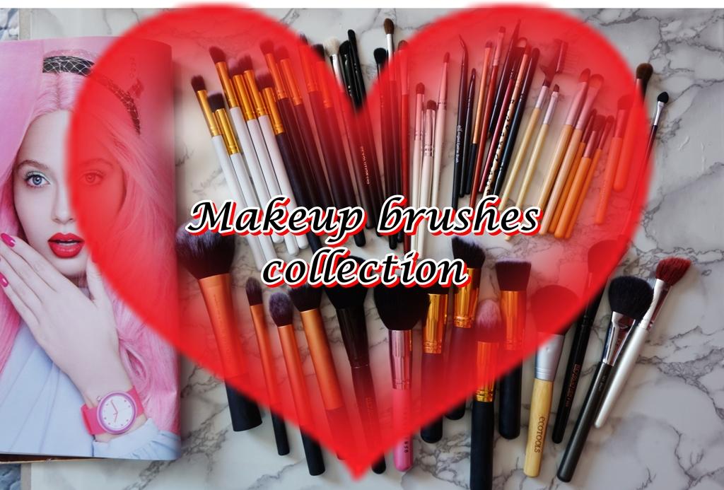 Colecția mea de pensule – Real Techniques, EcoTools, MustaeV, Elf, Makeup Revolution