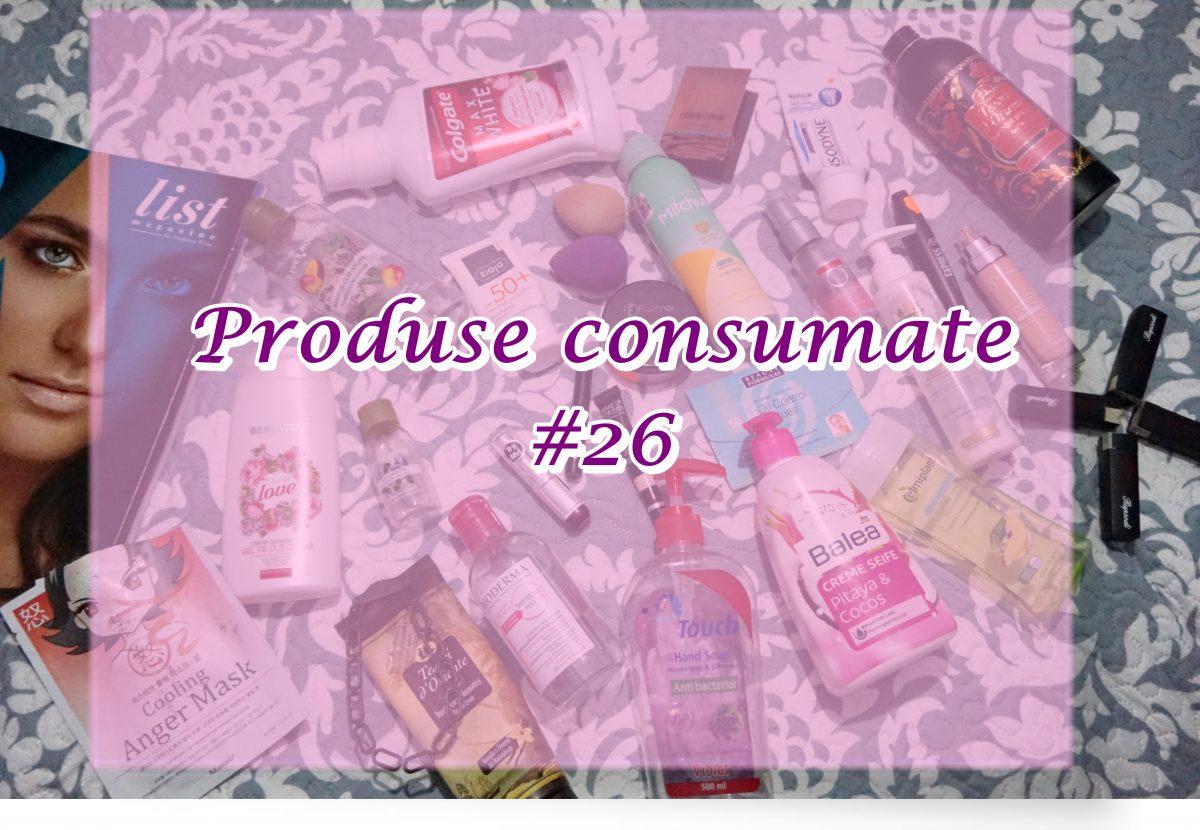 Produse consumate #26