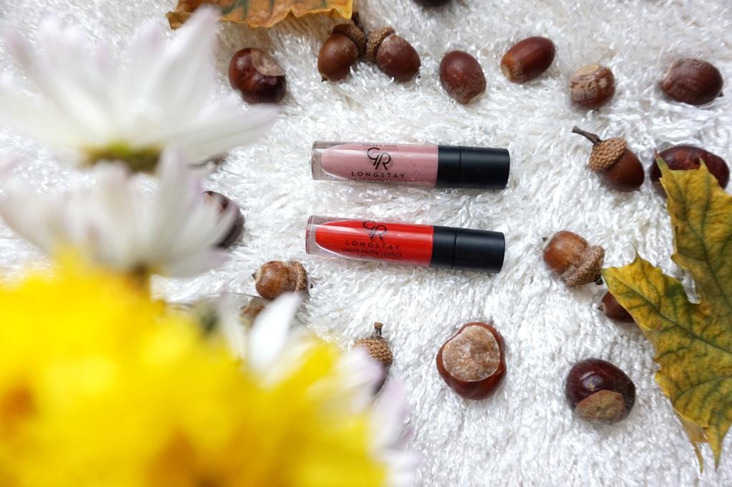 Review: Golden Rose Longstay Liquid Matte Lipstick Kissproof