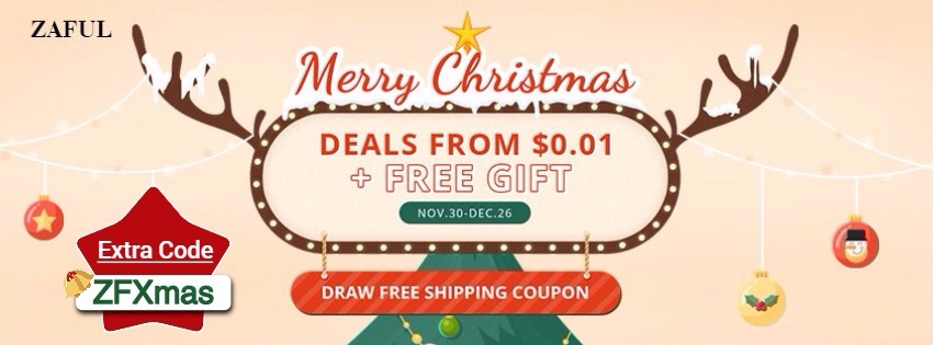 Christmas Sale on Zaful